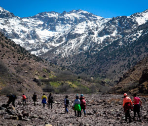 TOUBKAL MOUNT ASCENSION